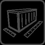 zaplecze kontenerów biurowych