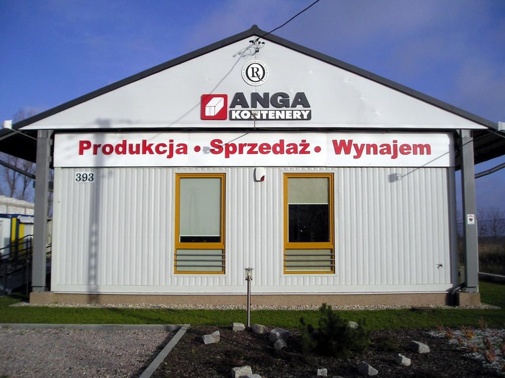 Anga - kontenery
